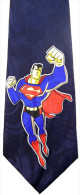 Superman Super Hero DBLUE Silk Cartoon Novelty Fancy NECK TIE - Other Collections