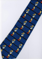 The Simpsons Bart Make Call Silk Cartoon Novelty Fancy NECK TIE - Other