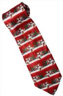 Christmas Santa Claus Xmas #25 Snow Man Silk Cartoon Novelty Fancy NECK TIE - Andere