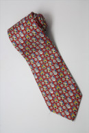 Christmas Santa Claus Xmas #29 Reindeer RED Silk Cartoon Novelty Fancy NECK TIE - Other Collections