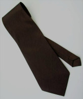 Bistre Brown Solid Glitter Thai Silk Men Formal Fashion NECK TIE - Andere