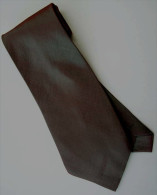 D-Rosy Brown Solid Glitter Thai Silk Men Formal Fashion NECK TIE - Other