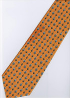 Yellow Black White Striped Men Formal Fashion SILK NECK TIE - Other Collections