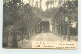 SAINT DENIS  - Porte D'entrée Du Château (ancienne Abbaye). - Belgique