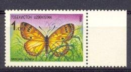 MR379 VLINDERS BUTTERFLIES SCHMETTERLINGE MARIPOSAS PAPILLONS UZBEKISTAN 1992 PF/MNH  VANAF1EURO - Vlinders