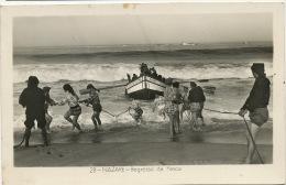 28 Nazare Regresso Da Pesca Barco Dinez De Castro1960  Col. Dulia - Autres