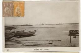 Porto De Leixoes 20 Circulada 1920 Ediçao Zacharias Rodrigues Porto - Autres