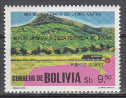 Bolivia    Scott No.  650    Unused Hinged   Year  1979 - Bolivië