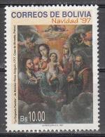 Bolivia    Scott No.  1012   Used   Year  1997 - Bolivia