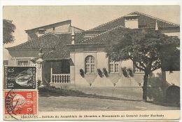 Abrantes No 3 Edifiçao Da Assembleia De A. E Monumento Ao General Avelar Machado - Portugal