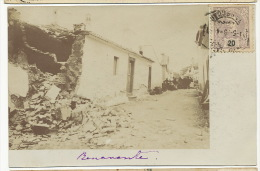 Benevente Foto Real Terremoto 1909 Temblor, Tremblement Terre, Earthquake - Portugal