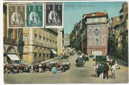 Porto   Largo Da Ribeira 1912 - Porto