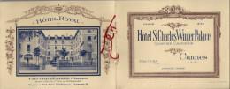 Carte De Visite. Hôtel St Charles Winter Palace De Cannes - Hôtel Royal De Contrexéville - Cartes De Visite
