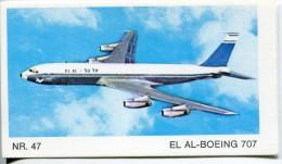 *** Image - Avion - EL AL BOEING 707 - NR 47 - Vecchi Documenti