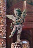 Firenze - Cartolina IL PUTTO DEL VERROCCHIO, Cortile Palazzo Vecchio 1971 - BUONA G48 - Sculture