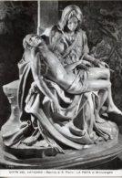 Roma, Città Del Vaticano - Cartolina LA PIETA' DI MICHELANGELO, Basilica Di San Pietro 1967 - BUONA G48 - Sculture