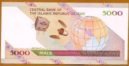 """**Nouveaux** 5000 Rials   """"IRAN""""  2009      UNC       Bc19 - Iran"""