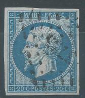 Lot N°25044   N°14B, Oblit PC étranger 3735 SETIF ( Constantine ), Ind 12, Belle Marges - 1853-1860 Napoléon III