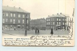 LA LOUVIERE  -  Place Maugrétout. - La Louvière
