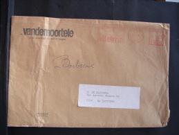 EMA. 9. Empreinte Mécanique. 14 Francs Izegem Avec Publicité Margarine De Régime Vitelma - Marcophilie
