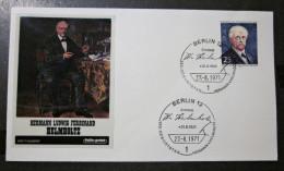 Brief FDC Briefmarken Helmholtz Deutschland Berlin 1971 - Berlin (West)