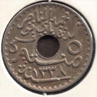 TUNISIE 5 CENTIMES 1920 - AH 1338 - Tunisia