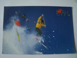 Ski  Dans  L'utah - Non Classés