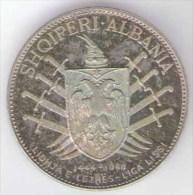 ALBANIA - Socialist People's Republic Of Albania - 5 LEKE ( 1968 ) Silver Coin / AG / SILVER - Albanien