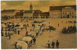 Pancevo Pancsova  Ferencz Jozaef Ter Franz Josef Platz Market . P . Used To Cuba - Serbia