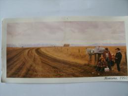 Montana      Carte  Format   Panoramique - Etats-Unis