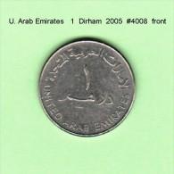 UNITED ARAB EMIRATES    1  DIRHAM  2005  (KM # 6.2) - United Arab Emirates