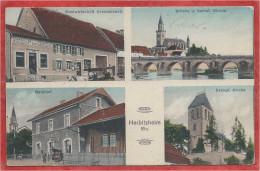 67 - HERBITZHEIM - Bahnhof - Gare - Gastwitschaft Grendelbach - Brücke - Kirchen - Feldpost - France