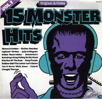 * LP *  15 MONSTER HITS (England EX-!!!) - Compilaties