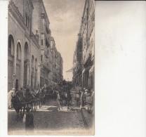 Constantine Rue Nationale Et Entrée De La Grande Mosquée Animée - Constantine
