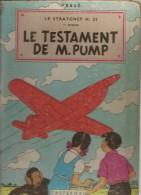 B.D.JO,ZETTE ET JOCKO - LE TESTAMENT DE M.PUMP  - 4éme Plat  B10 - 1954 - Jo, Zette & Jocko