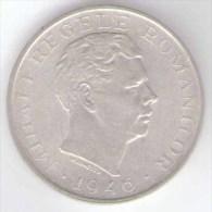 ROMANIA 100000 LEI 1946 AG SILVER - Roumanie