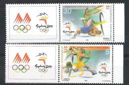 Olympische Spelen 2000 , Macedonie - Zegels Postfris - Zomer 2000: Sydney
