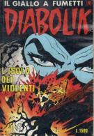 DIABOLIK N°220 L´ISOLA DEI VIOLENTI - Diabolik