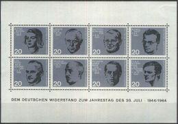DEUTSCHLAND 1964 Mi-Nr. Block 3 ** MNH (84) - [7] Federal Republic