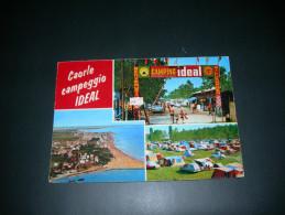 Caorle. Camping Ideal. Viaggiata .  3204 - Italia