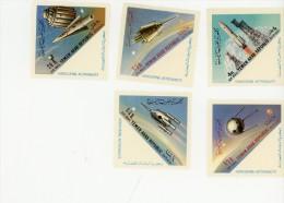 YEMEN(YAR)1963-Spoutnik-G Agarine-MI 316/20***MNH-Valeur 15 Euro - Asia