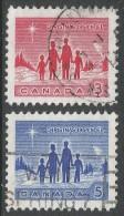 Canada. 1964 Christmas. Used Complete Set - 1952-.... Reign Of Elizabeth II