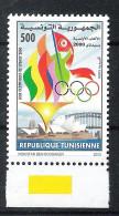 Olympische Spelen 2000 , Tunesie - Zegel Postfris - Zomer 2000: Sydney
