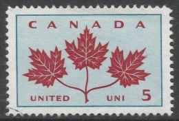 """Canada. 1964 """"Canadian Unity"""". 5c Used - 1952-.... Reign Of Elizabeth II"""