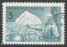 Canada. 1965 Birth Centenary Of William Grenfell. 5c Used - 1952-.... Reign Of Elizabeth II