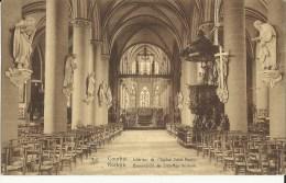 Courtrai -- Intérieur  De  L' Eglise  Saint - Martin.     (2 Scans) - Kortrijk
