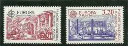 ANDORRA- ESTOS SELLOS O SIMILARES SIN FIJASELLOS +++ CATALOGO M. ABAD Nº 388/89 - Andorra Francesa