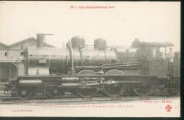 Les Locomotives (Cie De L'Est) -  Compound  -   Série (3584 à 3640 ) - Trains