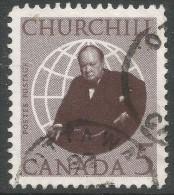 Canada. 1965 Churchill Commemoration. 5c Used - 1952-.... Reign Of Elizabeth II