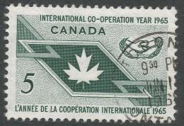Canada. 1965 International Co-Operation Year. 5c Used - 1952-.... Reign Of Elizabeth II